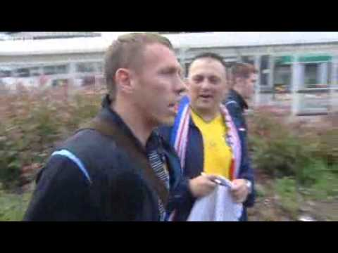 Bellamy refusing to autograph rangers top at Glasgow Airport Music Videos