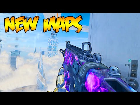 NEW MAPS MULTIPLAYER YOUTUBER GAMEPLAY - BLACK OPS 3 MULTIPLAYER DLC 2 MAPS (BO3 Multiplayer)