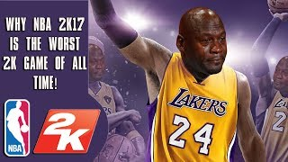 Why NBA 2k17 is the worst 2k of all time #Make2kGreatAgain