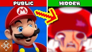 10 Nintendo DARK SECRETS That Made Kids Games Creepy
