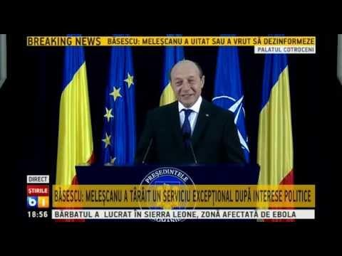Declaratie de presa Traian Basescu - 15 octombrie 2014