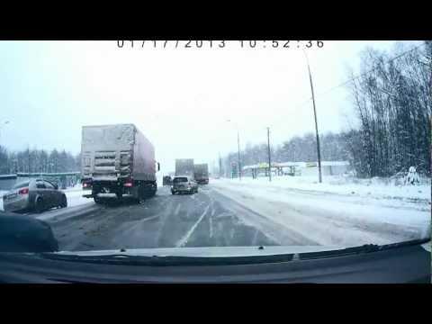 ДТП на 65 км трассы КРЫМ 17 января 2013 года