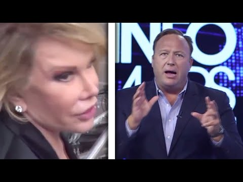 Joan Rivers, Then Alex Jones Spew Nonsense About Michelle Obama's Gender