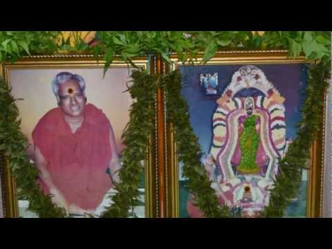Navaratri 2012 - Adhiparasakthi Mandram Harrow Uk - Veppillai Alangaram video