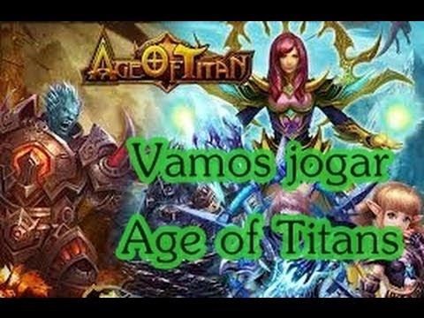 PARECIDO  COM LEAGUE OF LEGENDS '' Vamos jogar Age of Titans''