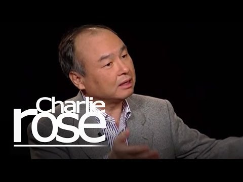 Masayoshi Son, CEO of SoftBank Corporation | Charlie Rose