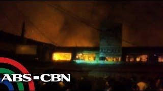 Fire razes Lucena market