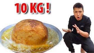 NTN - Thử Làm Chiếc Bánh Rán Khổng Lồ 10KG (Try to make giant donut)