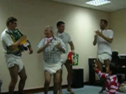 Portuguese Men In Diapers Dancing