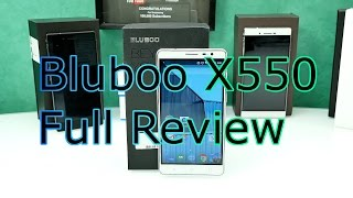 Bluboo X550 Full Review - 5300mAh Battery Monster - MTK 6735 Quadcore - Android 5.1 [4K]