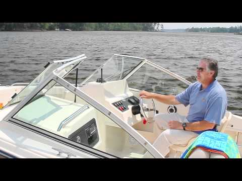 Take a tour of the Grady-White FREEDOM 192 dual-console boat in this ...