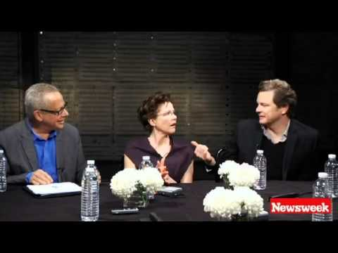 Colin Firth - Newsweek Oscar Roundtable - Clip 1 of 7