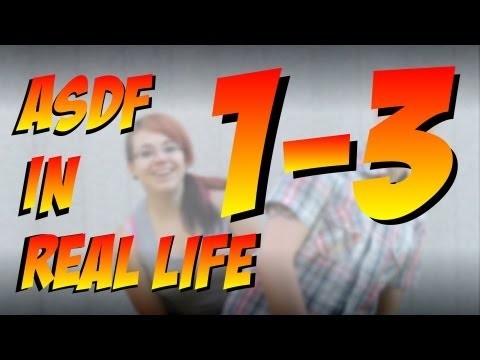 Asdf Movie In Real Life 1 - 3 German video