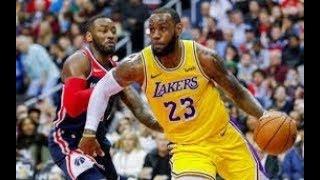 Los Angeles Lakers vs Washington Wizards NBA Full Highlights (17TH DECEMBER 2018-19)