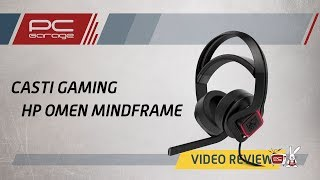 PC Garage – Video Review Casti Gaming Omen Mindframe by HP