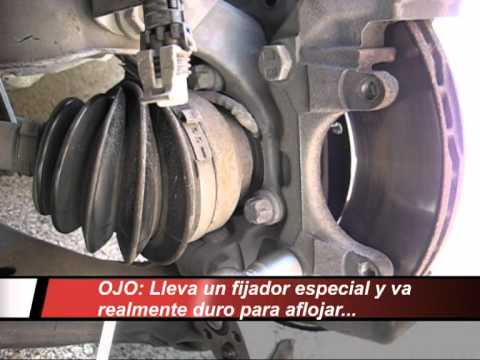 CAMBIO DISCOS FRENO Y PASTILLAS DELANTERAS OPEL ASTRA G