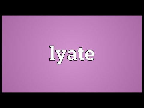 Header of lyate