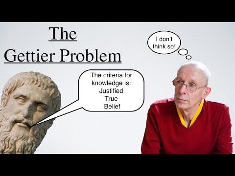 the gettier problem The gettier problem there are instances of justified true belief that aren't instances of knowledge these instances generally involve being right by accident.