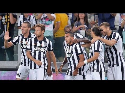 Juventus Udinese 2-0 13/09/14