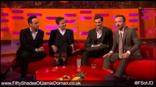 Jamie Dornan on the Graham Norton Show 28.02.14 - Part 1