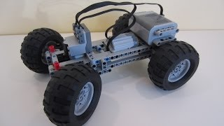Fast and Compact LEGO PF RC car