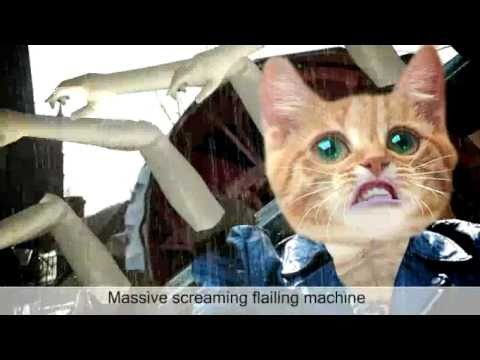 Screaming Flailing Machine! Video