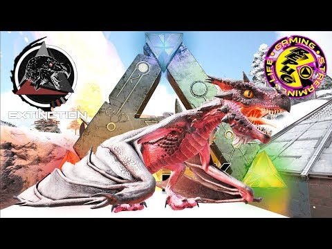 ARK: SURVIVAL EVOLVED: ALPHA WYVERN EGG HUNT! EPIC BATTLES![RePuG  EXTINCTION CORE MODDED EP22] ...