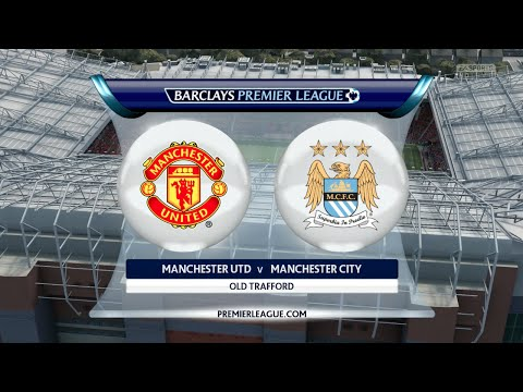 """FIFA 16 - Manchester United vs. Manchester City """"Manchester Derby"""" @ Old Trafford"""