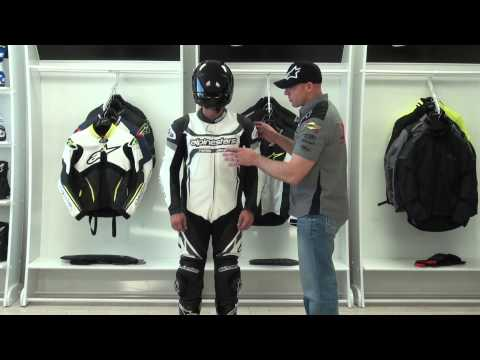 Alpinestars Motegi One Piece Leather Race Suit Video Review from SportbikeTrackGear.com