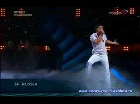 Winner of Eurovision 2008 (Russia) Dima Bilan - Believing (L
