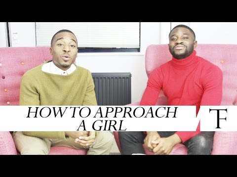 How To Approach A Girl   #guytalk video
