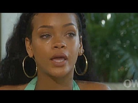 Rihanna's tearful Chris Brown confession