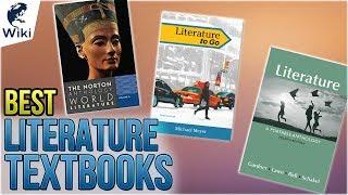 10 Best Literature Textbooks 2018