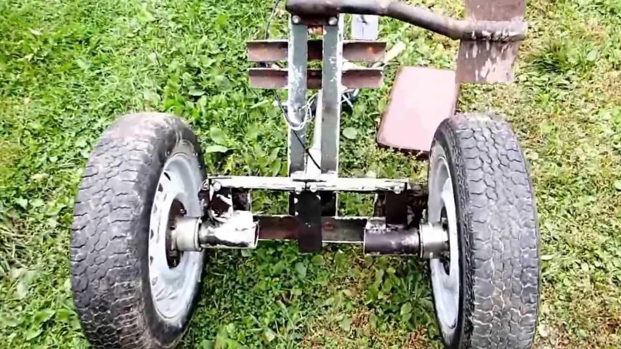 Как сделать рулевую к минитрактору