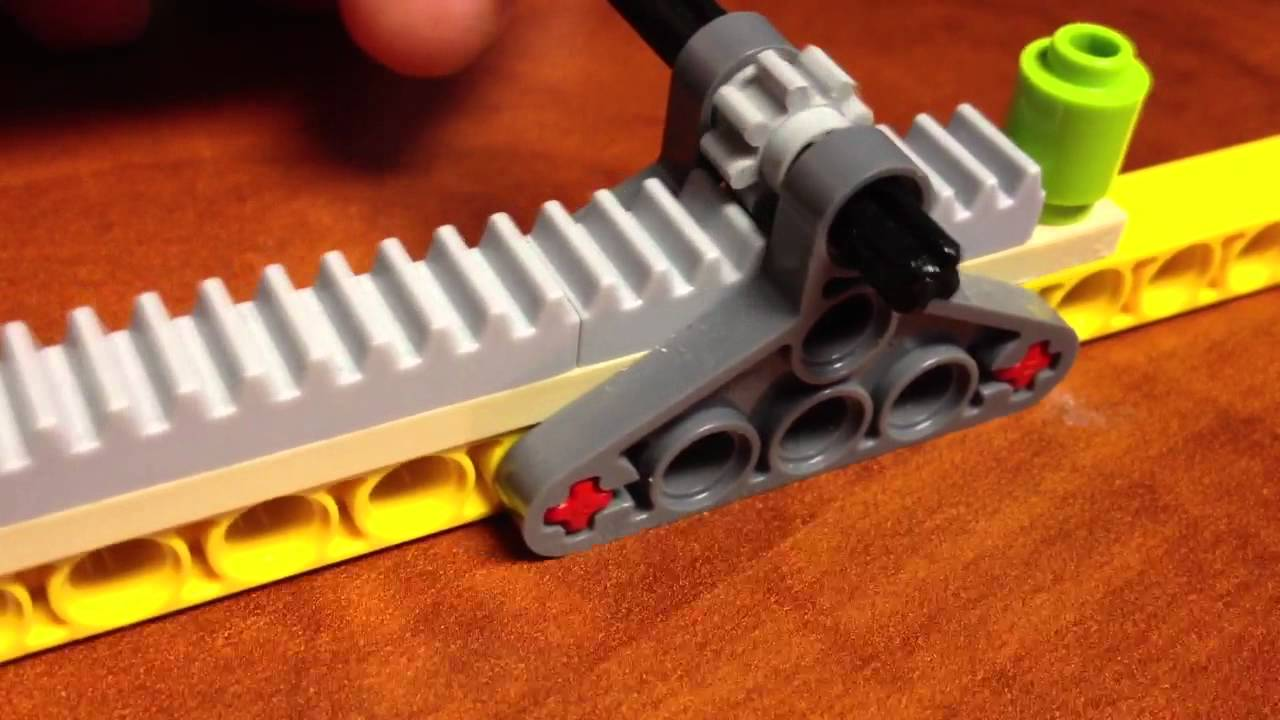 Lego Rack And Pinion Youtube