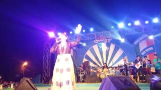 Sham hain Dhua dhua poornima shreshtha live in Concert with Swaralipi Musical Events at SAGAR COLLEG