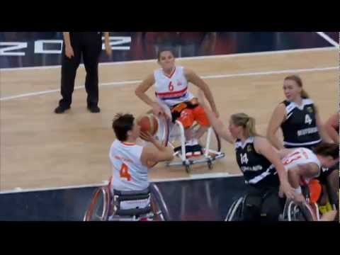 Wheelchair Basketball - Women's Semi-final - NED versus GER- London 2012 Paralympic Games