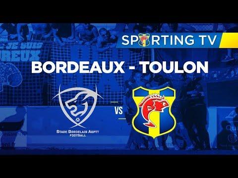 [A METTRE EN HD] Découvrez le résumé du match entre Bordeaux et Toulon dans le cadre de la 4ème journée de National 2.
