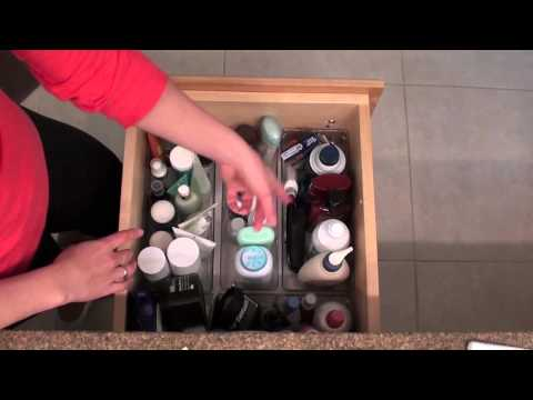 Organize in 30 Minutes or Less: Bathroom Drawers