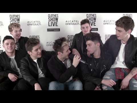 Stereo Kicks in the Clothes Show Diary Room - Clothes Show TV