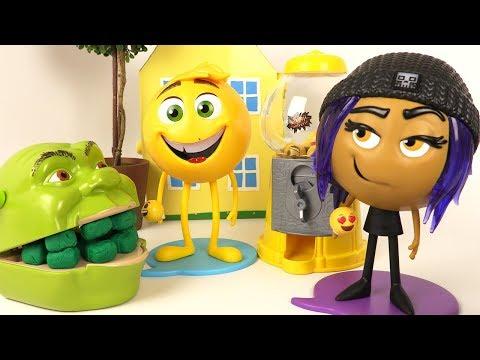 Shrek et le Singe et Les Emojis Machine à Bonbons Gene et Jailbreaker