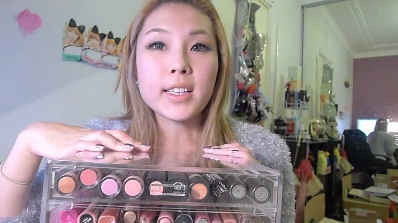 Kardashian Makeup Storage Clear Acrylic Box Youtube