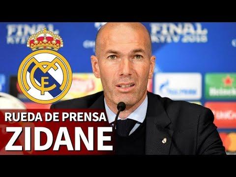 Zidane rueda de prensa para anunciar su adiós del Real Madrid I Diario AS thumbnail