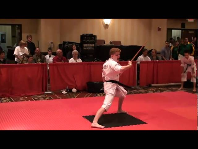 Connor Griffith Traditional Weapons at Diamond Nationals 2010