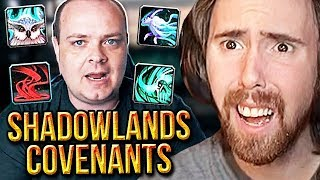 Asmongold Worried About Shadowlands New COVENANTS | Preach