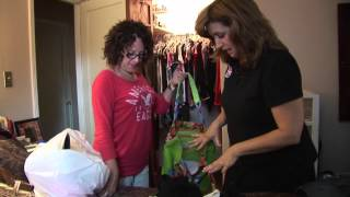 "Organization Motivation! ""DeClutter My Closet"" Seg 1"