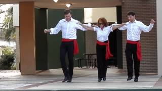 USF Health Cultural Fiesta Zorba the Greek Sirtaki dance December 2013