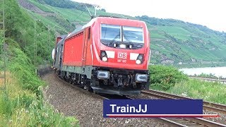BR 187 Traxx | DB Cargo | Bopparder Hamm | Bombardier | Cargo Train | Güterzug | BR187