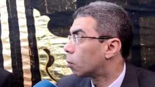 ياسر رزق في جنازة «أحمد رجب»: فقدنا رمزًا كبيرًا