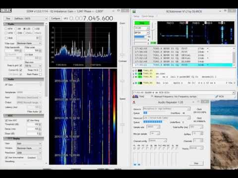 Using SDR# to feed RCKskimmer